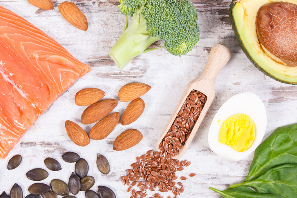 Healthy foods with omega and other vitamins can help treat social anxiety